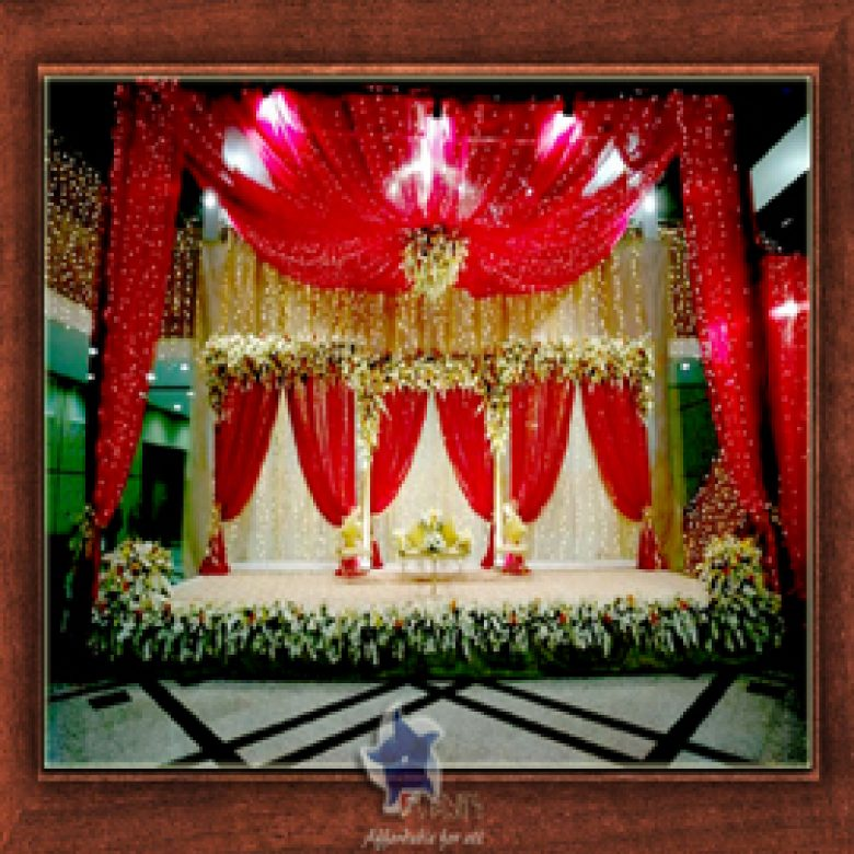 Wedding Stage Design- Frame No- 128