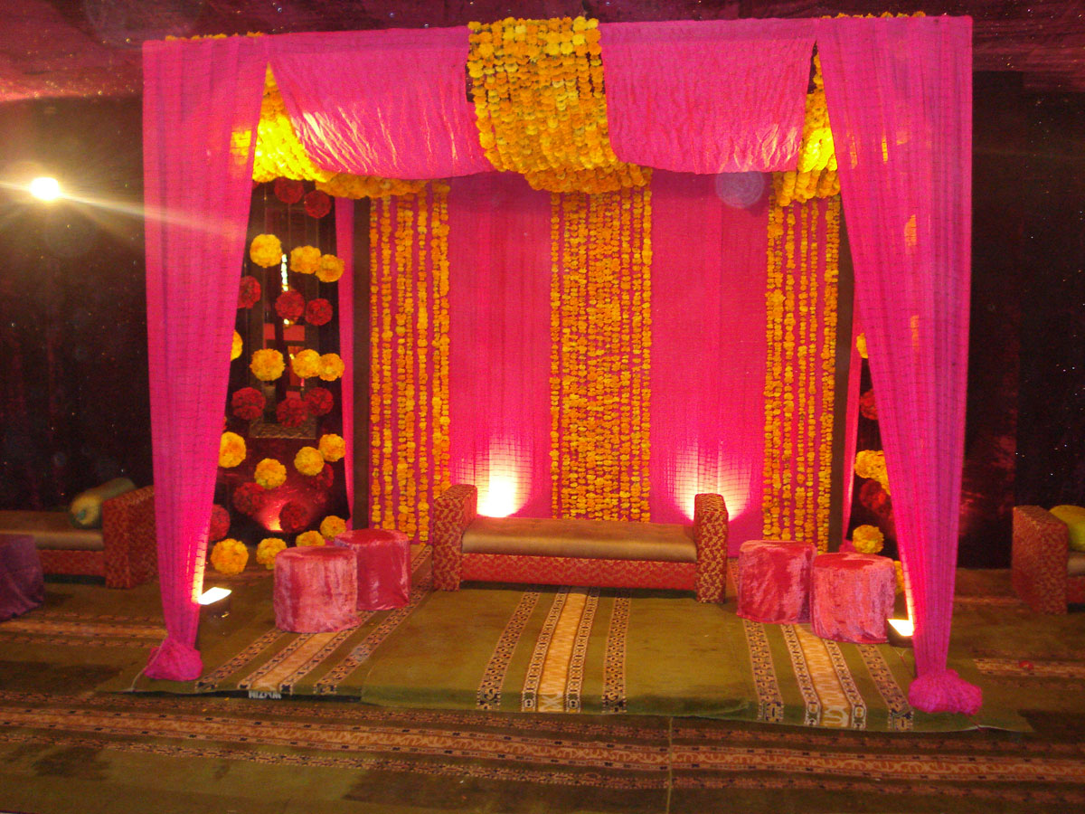Wedding Stage Design- Frame No- 109