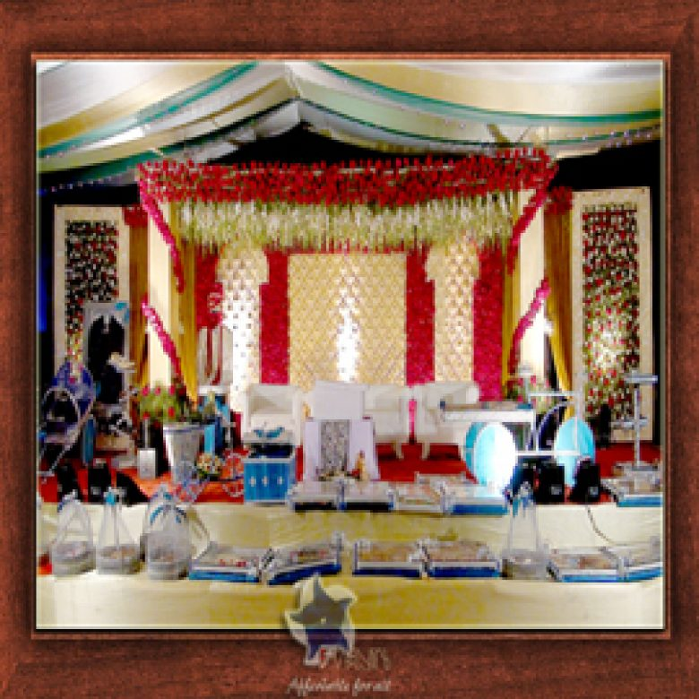 Wedding Stage Design- Frame No- 134