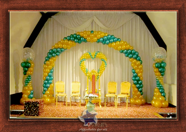Wedding Stage Design- Frame No- 135