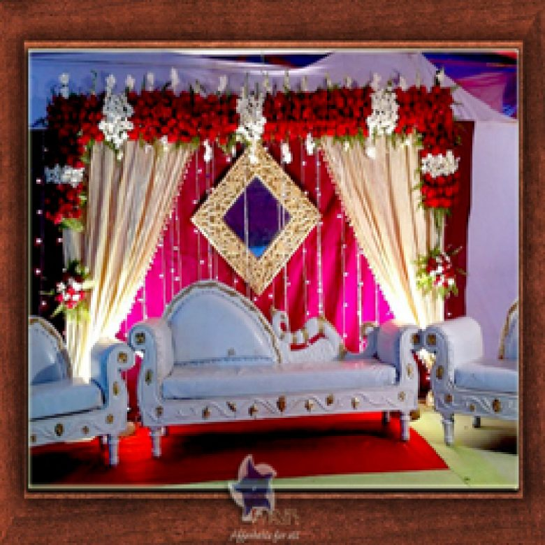 Wedding Stage Design- Frame No- 136