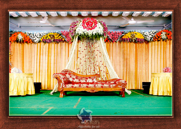 Wedding Stage Design- Frame No- 140
