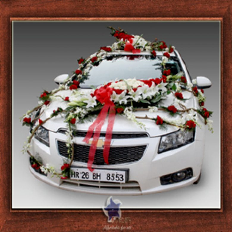 Weeding Car Design- Frame No- 812