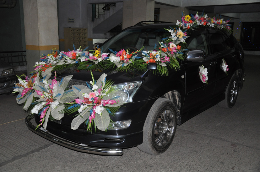 Weeding Car Design- Frame No- 803
