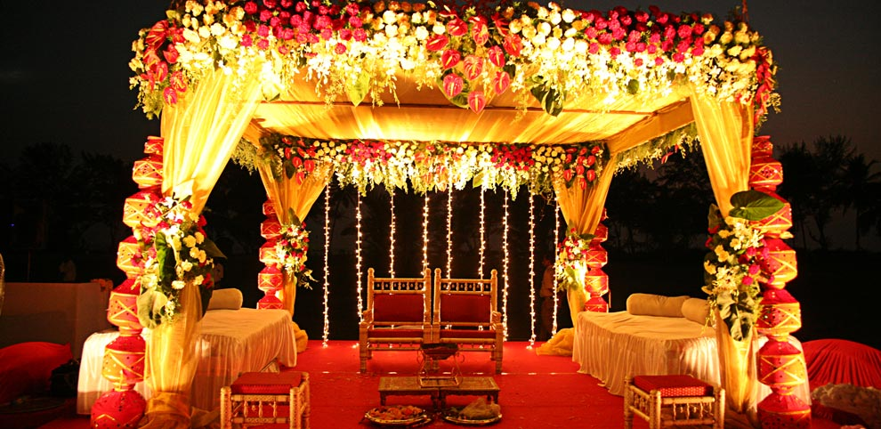 Wedding Stage Design (Mandap)- Frame No- 159
