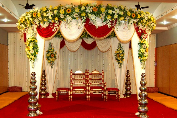 Wedding Stage Design (Mandap)- Frame No- 158