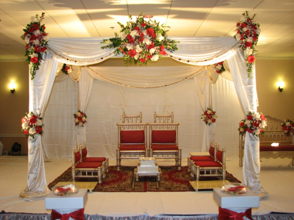 Wedding Stage Design (Mandap)- Frame No- 153