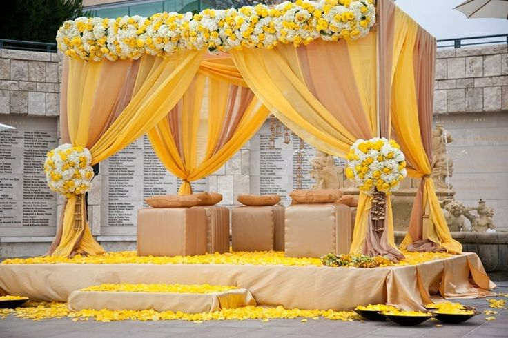 Wedding Stage Design (Mandap)- Frame No- 151