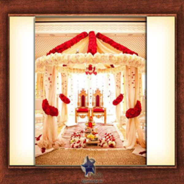 Wedding Stage Design (Mandap)- Frame No- 161