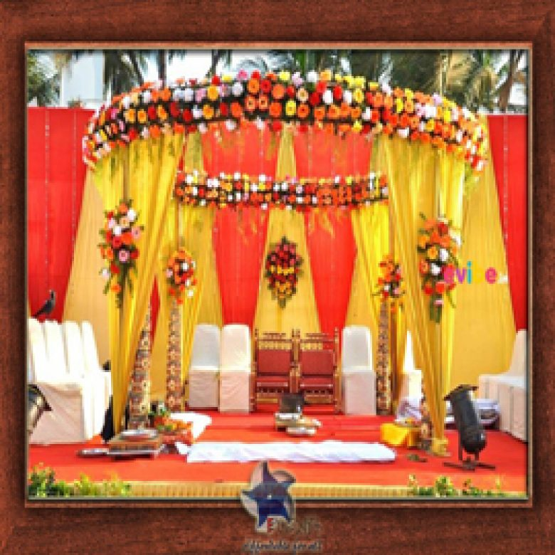 Wedding Stage Design (Mandap)- Frame No- 162