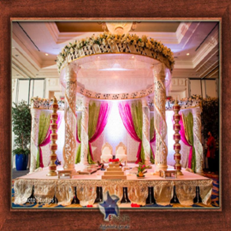 Wedding Stage Design (Mandap)- Frame No- 163