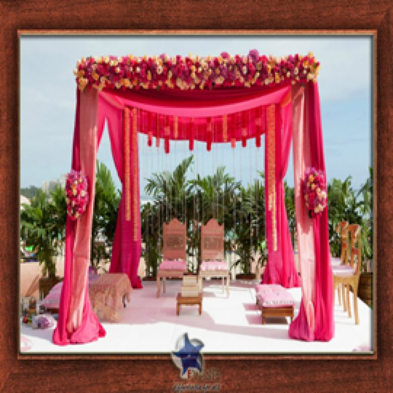 Wedding Stage Design (Mandap)- Frame No- 154