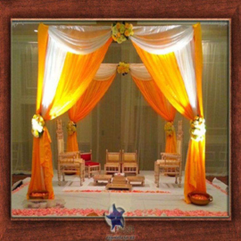 Wedding Stage Design (Mandap)- Frame No- 156