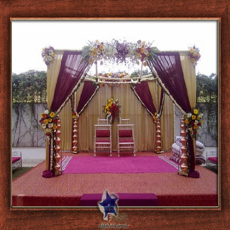 Wedding Stage Design (Mandap)- Frame No- 160